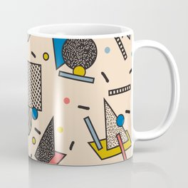 Memphis Inspired Pattern 7 Coffee Mug