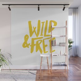 Wild and Free - Sunshine Wall Mural