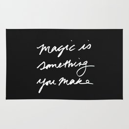 Magic is something you make #2 Rug