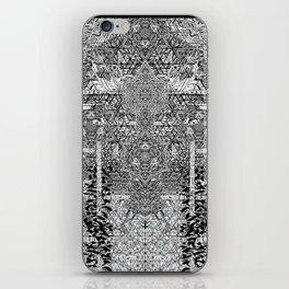 geometric art poster 2 iPhone Skin