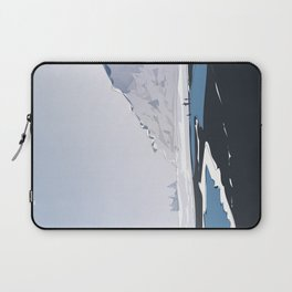 Vik Reynisfjara Black Sand Beach, Iceland Laptop Sleeve