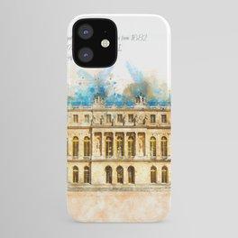 Versailles, Aquarell iPhone Case