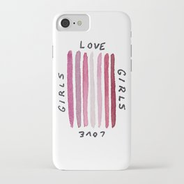 Girls Love Girls iPhone Case