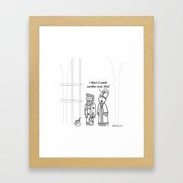 Another Coat Framed Art Print