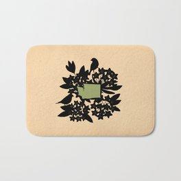 Washington - State Papercut Print Bath Mat