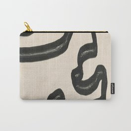 Minimal Abstract Art 16 Carry-All Pouch