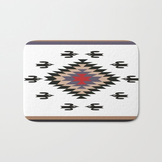 American Native Pattern No. 23 Bath Mat
