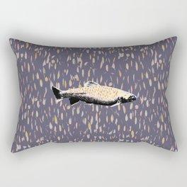 Salmon Spectacular Rectangular Pillow