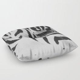 Black & White Floor Pillow