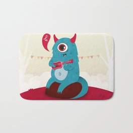 The singing Monster Bath Mat