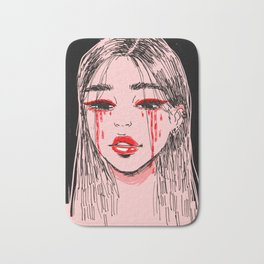 cry baby Bath Mat