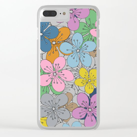 Cherry Blossom Colour - In Memory of Mackenzie Clear iPhone Case