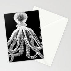 Octopus | Black and White Stationery Cards