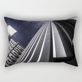 Urban Chrome Structure Rectangular Pillow