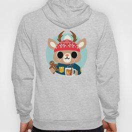 Deer in a Sweater Hoody