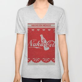 An Ice Cold Nuka Cola - Fallout Universe Unisex V-Neck