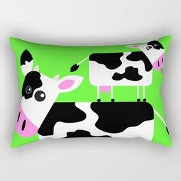 Cute Cows Rectangular Pillow