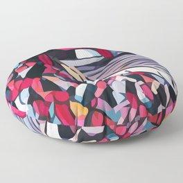Abstract 100 #2 Floor Pillow