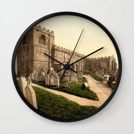 Whitby, St. Mary's Church, Yorkshire, England Wall Clock