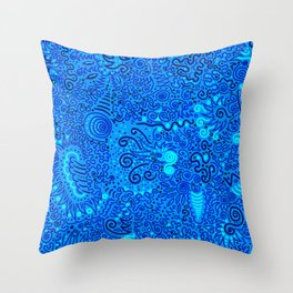 Jaw-dropper Throw Pillow