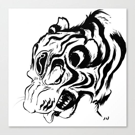 Tiger Jewel Canvas Print