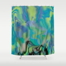 Waterfalling Shower Curtain