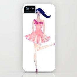 soft blush iPhone Case