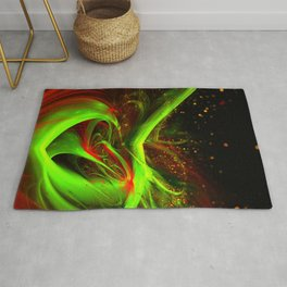Abstract concoction Rug