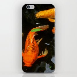 Fish Pond iPhone Skin