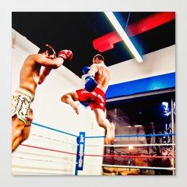 Fight : Jump Canvas Print