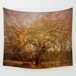 Golden November Wall Tapestry