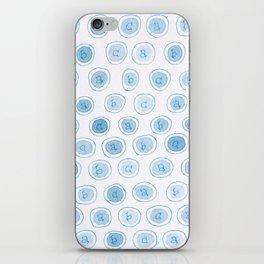 #33. ALEXANDRA - abc iPhone Skin