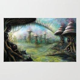 Alien Landscape Rug