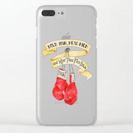 Atticus Clear iPhone Case