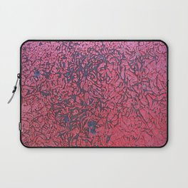 Rusted Red Wall Laptop Sleeve