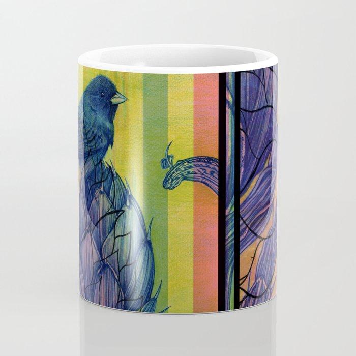 Artichoke Aloe Finch Air Coffee Mug