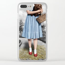 Creepy Dorothy of Oz Clear iPhone Case