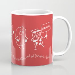 Let's All Go to the Lobby! - Red Coffee Mug