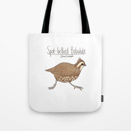 Spot-bellied Bobwhite Tote Bag