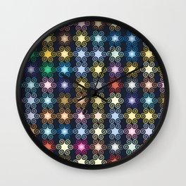 Curliques Wall Clock