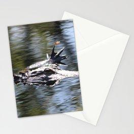 Alligator Manicure Stationery Cards