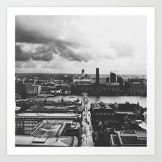 London Below (B&W) Art Print
