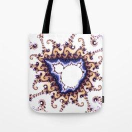 Mandelbrot Hybrid Tote Bag
