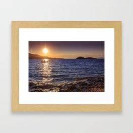 boatman Framed Art Print