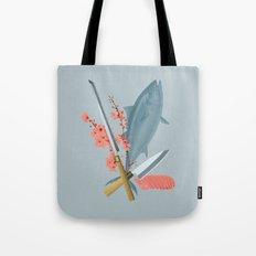 sushi chef Tote Bag