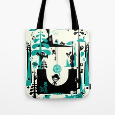 Time Alone Tote Bag