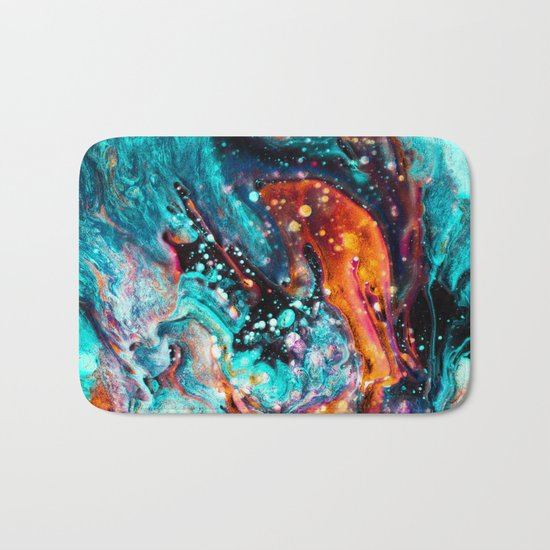 Paint Swirl Euphoria Bath Mat