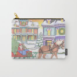 Old Fashioned Christmas Carry-All Pouch