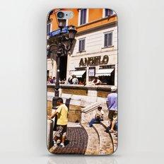 italy - rome - vacanze romane_39 iPhone & iPod Skin