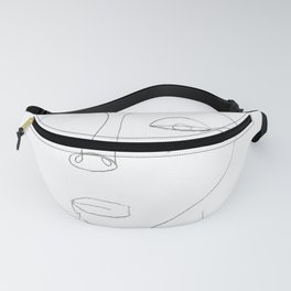 The Woman - Contour Drawing Fanny Pack